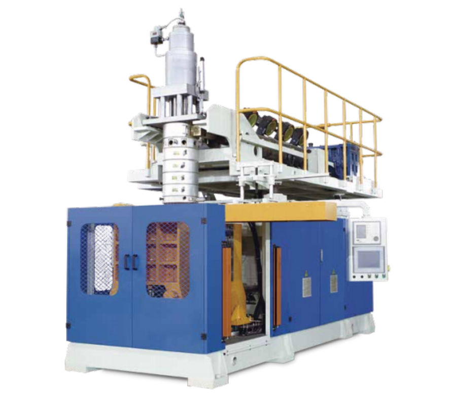 Automatic Injection Blow Moulding Machine Accumulating Type Die Head 30-100L Volume