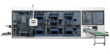 Chine Machine en plastique de TTF-AF Thermoforming, vide automatique formant la station de la machine quatre usine